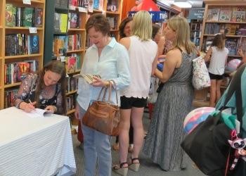 Vanessa signing