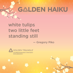 Golden Haiku - Gregory